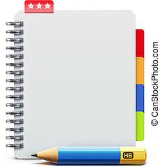 cuaderno, espiral