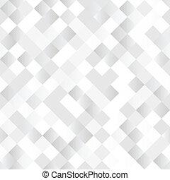 cuadrados, brillante, seamless, plano de fondo, plata