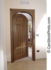 cuadro de puerta