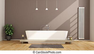 cuarto de baño, contemporáneo