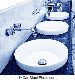 cuarto de baño, lavabo