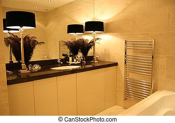 cuarto de baño, luxerious