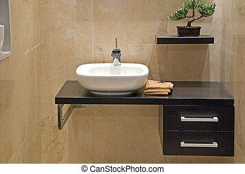 cuarto de baño, moderno