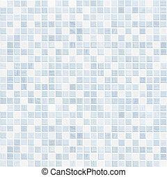 cuarto de baño, o, cerámico, plano de fondo, pared, azulejo