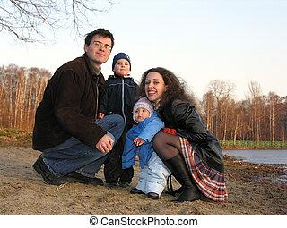 cuatro, hielo, sit., familia , l