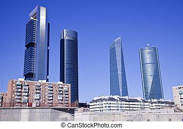 cuatro, torres, madrid