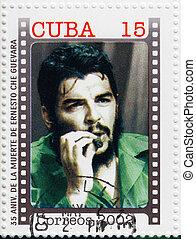 cuba, 2002, guevara, muerte, che, cuba, estampilla, :, -, ...