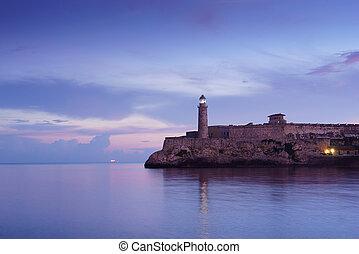 Cuba, Caribbean Sea, la habana, havana, morro, lighthouse