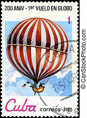 CUBA - CIRCA 1983: a postage stamp printed in Cuba...