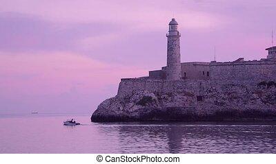 Cuba, Havana, El Morro castle