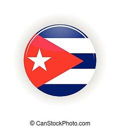 Cuba icon circle