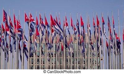 Cuba, La Habana, Havana, Cuban flag