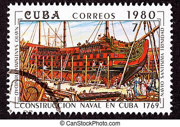 Cuba Postage Stamp Sant?sima Trinidad Ship of the Line ...