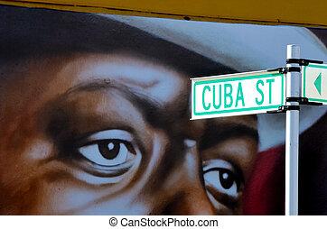 Cuba Street in Wellington New Zealand