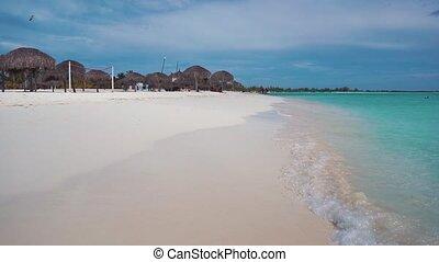 Cuba. The coast of the Caribbean Sea.