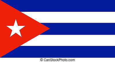 Cuban Flag - Flag of Cuba
