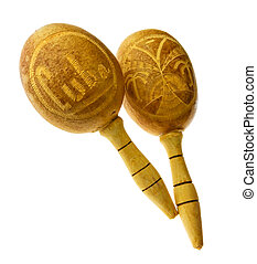 maracas - cuban maracas, traditional musical instrument for ...