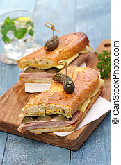 cuban sandwich, cuban mix, cuban pressed sandwich