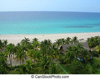 cubano, playa