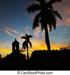 cubansk, landskab