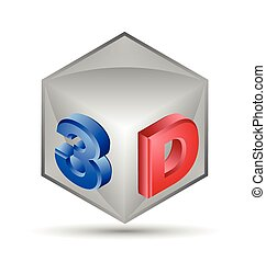 cube, 3d