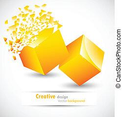 cube, conception