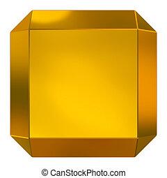 cube golden