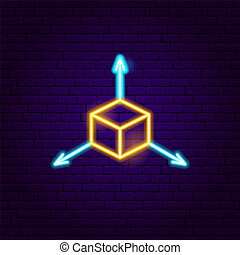 Cube Neon Sign