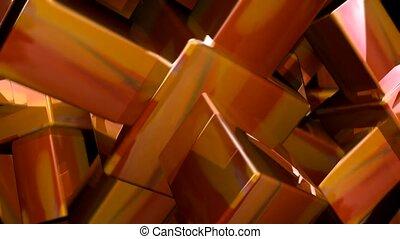 Cube on cube