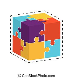 cube puzzle solution image