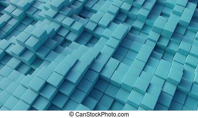 cube, résumé, arrière-plan.