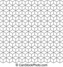 cube seamless pattern background