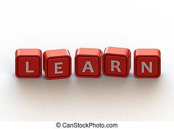 cubes:, 学びなさい
