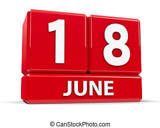 Cubes 18th June