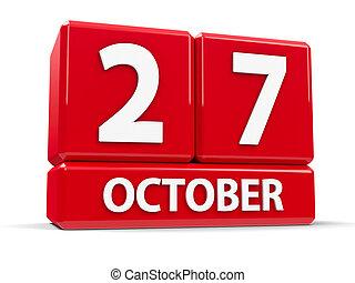 Cubes 27th October