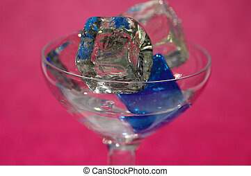 cubes, 4, glace