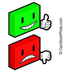 cubes, faces