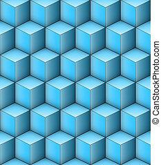 cubes, infinité