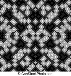 Cubes kaleidoscopic seamless generated texture