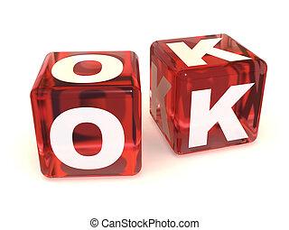 cubes., ok