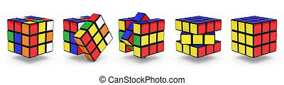 cubes, rubik's