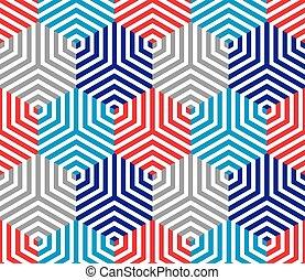 cubes, seamless, modèle, ge, revêtu, 3d