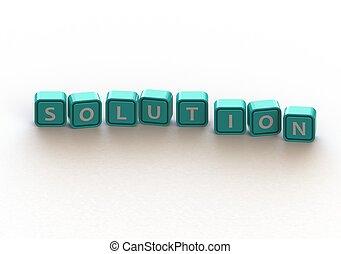 Cubes: solution
