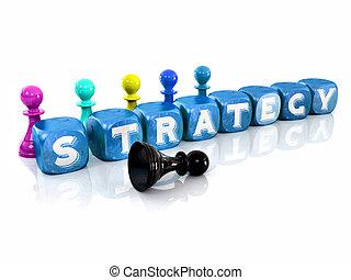 cubes., strategy., 3d