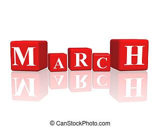 cubi, marzo, 3d