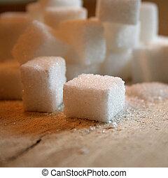 cubi, zucchero