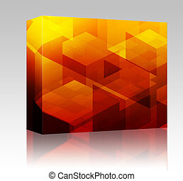 Cubic blocks box package - Software package box Abstract...