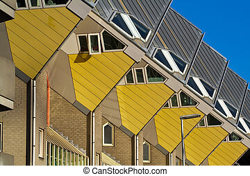 Cubic houses in Rotterdam - Cubic houses and apartments in...