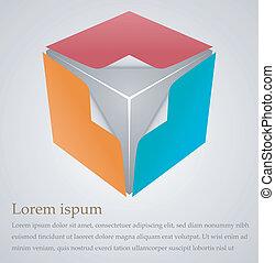 Cubical design element