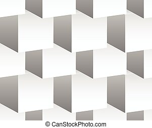 Cubical pattern. Repeatable background with 3d cube shapes....